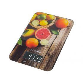 Весы кухонные ht-962-004, платформа из стекла 21*14*1,5 см. макс. вес=5 кг-962-004