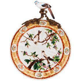 Тарелка настенная декоративная 39,5*31 см (кор=2шт.)-469-312