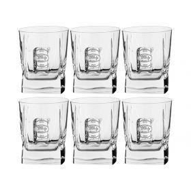 Набор стаканов для виски из 6 шт. 300 мл.высота=10 см.-307-103