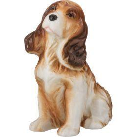 Фигурка собака высота=9 см.