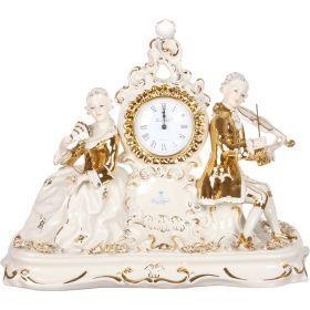 Часы настольные та=36 см. циферблат диаметр=9 см.-282-069