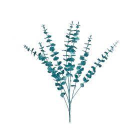 Изделие декоративное ветка длина=78см. голубой