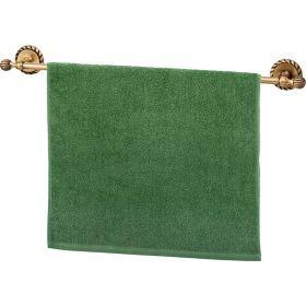 Полотенце махровое ,50х90, зелёное ,100% х\б-703-13132