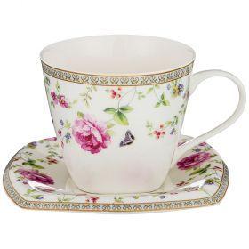 Чайный набор на 1 персону 2пр. 220мл (кор=36наб.)-165-443