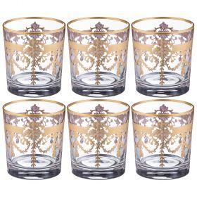 Набор стаканов из 6 шт. 280 мл. высота=9 см.-103-565