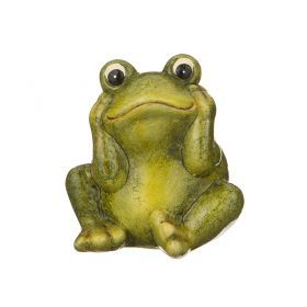 Фигурка лягушка 7.4*7.2*8.2 см