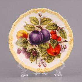 Тарелка декоративная диаметр = 20 см.-451-156