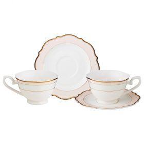 Чайный набор на 2 персоны 4 пр.210 мл.-115-270
