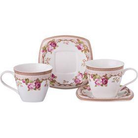 Чайный набор на 2 персоны 4пр. 220 мл.-165-347