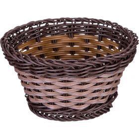 Корзинка темное плетение 16*9 см-109-204