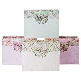 Комплект бумажных пакетов из 12 шт 20*25*8 см.-512-577