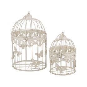 Набор клеток для птиц декоративных из 2-х шт.l:19*29,s:15*20 см-123-170