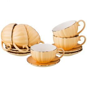 Чайный набор на 6 персон 12 пр 200 мл (кор=6набор.)-153-866