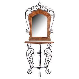 Консоль с зеркалом 67*32*150 см (кор=2шт.)-723-121