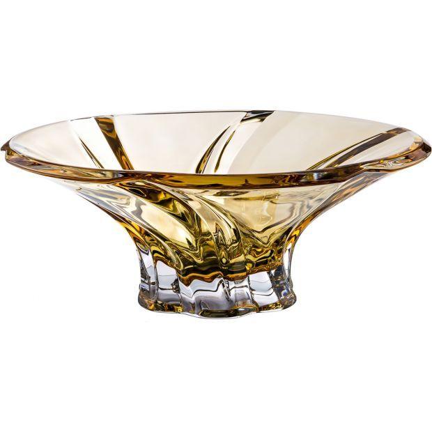 "Фруктовница ""oklahoma amber"" диаметр=30,5 см. высота=12 см.-614-544"
