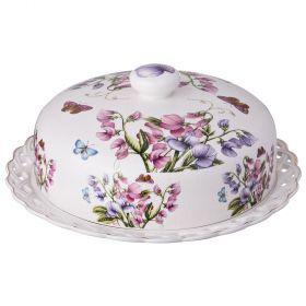 Блюдо для блинов с крышкой диаметр=25 см.-69-2499