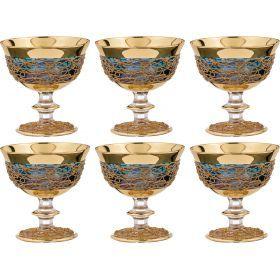 Набор бокалов для коктейлей из 6 шт.300 мл.высота=12 см.-103-521
