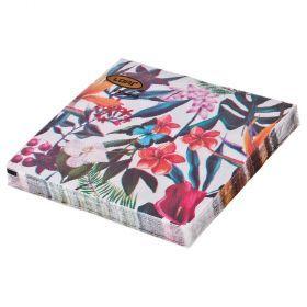 Салфетки бумажные 2-х слойные 33*33 см-423-228