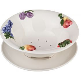 Блюдо для мытья фруктов диаметр=25 см.высота=8,5 см.-628-021