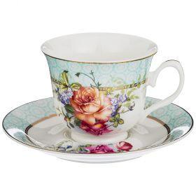 Чайный набор на 1 персону 2пр. 220мл (кор=36наб.)-165-463
