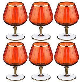 Набор бокалов для вина из 6 шт. 350 мл. высота=14 см.-103-535