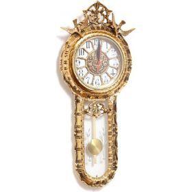 Часы настенные с термометром (кварцевые) 57*23 см.-646-045