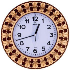 Часы настенные кварцевые  диаметр 32,8 см диаметр циферблата 20,5 см-207-419