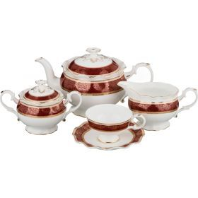 Чайный сервиз на 6 персон 15 пр.1100/500/400/200 мл.-586-324