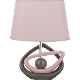 Светильник+абажур овал высота=36 см.27*19 см.е-14-139-180