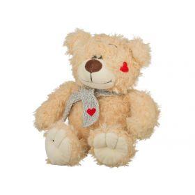 Игрушка медвежонок тэди с сюрпризом высота=20 см.16*13*10 см.+подарочная коробка (ко