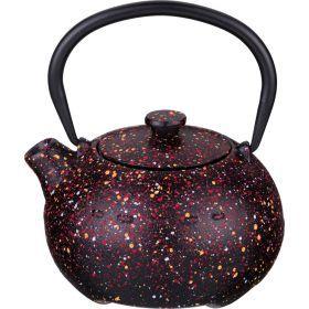 Заварочный чайник чугунный с эмалированным покрытием внутри 350 мл.-734-062