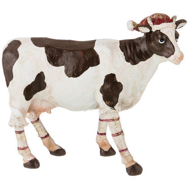 """Фигурка """"корова"""" 11,5*4,5*10 см. (кор=48шт.)-162-839"""
