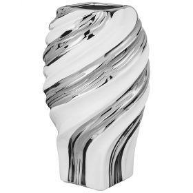 Ваза декоративная серебряная коллекция 15*15*24 см-699-304