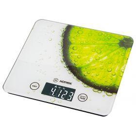 Весы кухонные ht-962-002, платформа из стекла 18*20*1,5 см. макс. вес=5 кг-962-002
