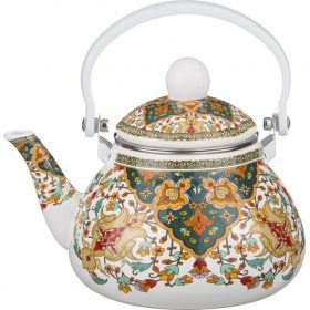 Чайник эмалированный с фильтром из нжс 1,3 л.-934-334