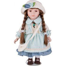 Кукла фарфоровая высота=30 см.-346-247