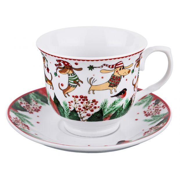 Чайный набор на 1 персону 2 пр.200 мл.-389-460