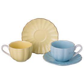 Кофейный набор на 2 персоны 4 пр. 135 мл.-359-382