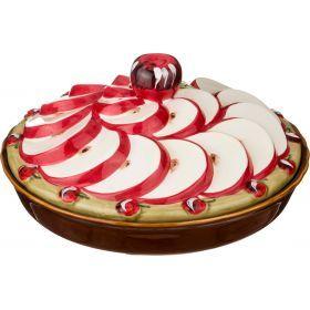 Блюдо с крышкой диаметр=24 см.высота=13 см.(кор=6шт.)-585-054