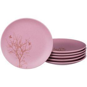 Набор тарелок из 6 шт.диаметр=21 см.-756-172