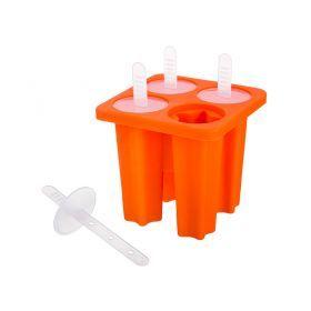 Силиконовая форма для приготовления мороженого 13*10*10 см.-710-340