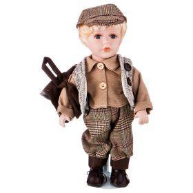 Кукла фарфоровая высота=30 см.-346-250