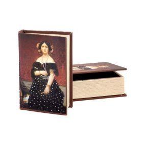 Комплект из 2-х шкатулок-книг 30*21*7 / 24*16*5 см-184-111