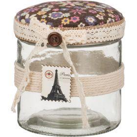 Шкатулка для швейных мелочей с подушечкой для иголок 11*11*12 см-222-059