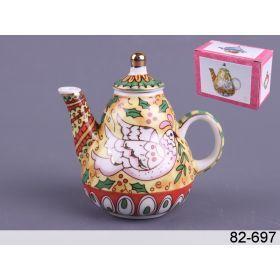 Чайник декоративный 9*9*6 см. 100 мл.