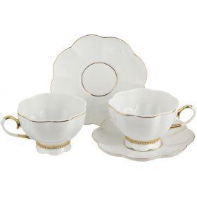 Чайный набор на 2 персоны 4 пр.250 мл.-55-2528