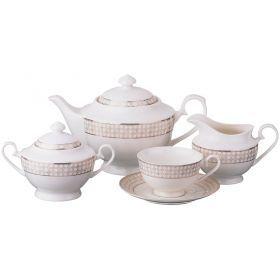 Чайный сервиз на 6 персон 15 пр.1000/230/500/480 мл.-115-268