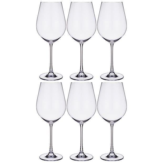 """Набор бокалов для вина из 6 шт. """"columba"""" 650 мл высота=26 см-669-253"""