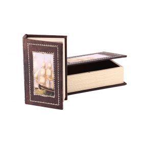 Комплект из 2-х шкатулок-книг 27*18*7 / 21*13*5 см