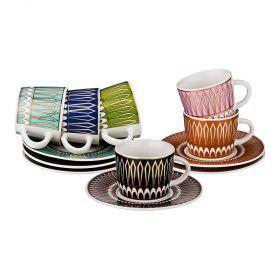 Кофейный набор на 6 персон 12 пр. коллекция